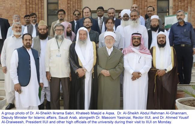 Saudi Delegation visit to IIUI Group copy